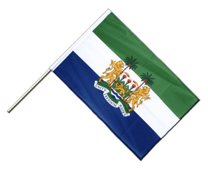 Sierra Leone - Hand Waving Flag PRO 2x3 ft