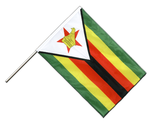 Zimbabwe Hand Waving Flag PRO 2x3 ft