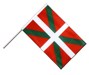 Basque country Hand Waving Flag PRO 2x3 ft