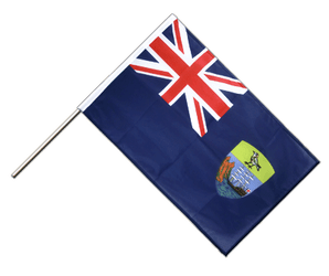Saint Helena Hand Waving Flag PRO 2x3 ft