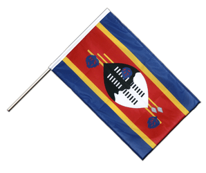 Swaziland Hand Waving Flag PRO 2x3 ft