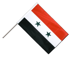 Syrien Stockflagge PRO 60 x 90 cm