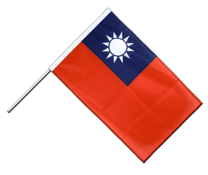 Taiwan Hand Waving Flag PRO 2x3 ft
