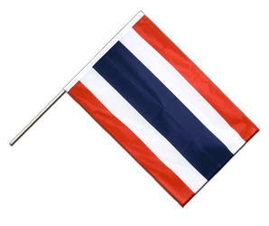 Thailand Hand Waving Flag PRO 2x3 ft