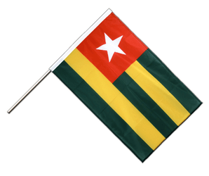 Togo Hand Waving Flag PRO 2x3 ft