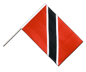 Trinidad and Tobago Hand Waving Flag PRO 2x3 ft
