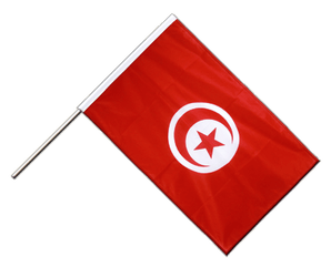Tunisia Hand Waving Flag PRO 2x3 ft