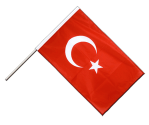 Turkey Hand Waving Flag PRO 2x3 ft