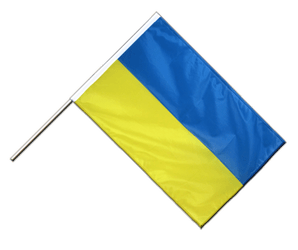 Ukraine - Hand Waving Flag PRO 2x3 ft