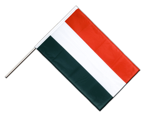 Hungary Hand Waving Flag PRO 2x3 ft