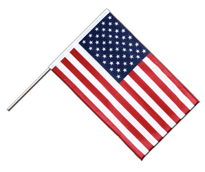 USA Hand Waving Flag PRO 2x3 ft