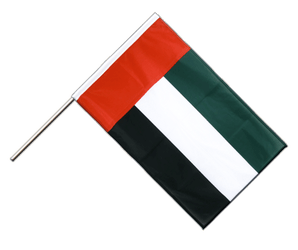 United Arab Emirates Hand Waving Flag PRO 2x3 ft