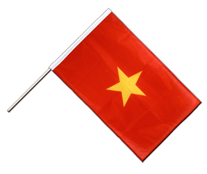 Vietnam Hand Waving Flag PRO 2x3 ft