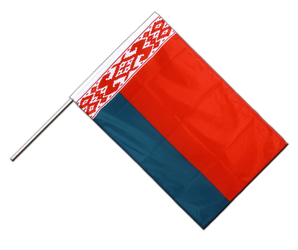 Belarus Hand Waving Flag PRO 2x3 ft