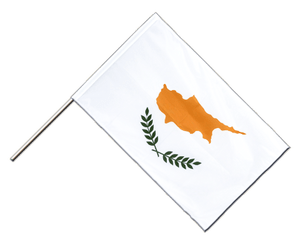 Cyprus Hand Waving Flag PRO 2x3 ft