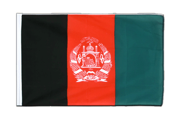 Afghanistan Sleeved Flag ECO 2x3 ft