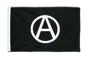 Anarchie Drapeau Fourreau ECO 60 x 90 cm