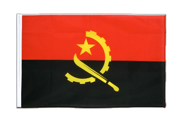 Angola Sleeved Flag ECO 2x3 ft
