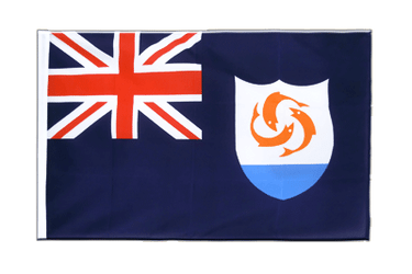 Anguilla Sleeved Flag ECO 2x3 ft
