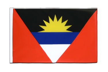 Antigua and Barbuda Sleeved Flag ECO 2x3 ft