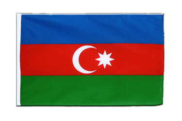 Azerbaijan Sleeved Flag ECO 2x3 ft