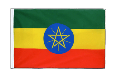 Ethiopia with star Sleeved Flag ECO 2x3 ft