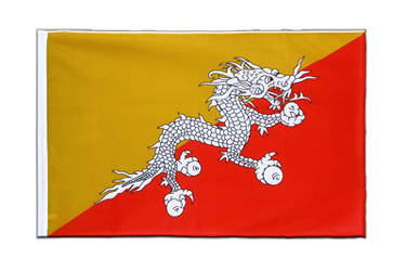 Bhutan Sleeved Flag ECO 2x3 ft