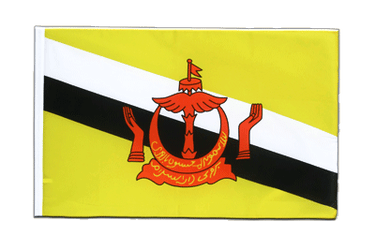 Brunei Sleeved Flag ECO 2x3 ft