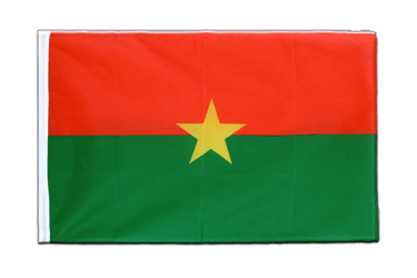Burkina Faso Sleeved Flag ECO 2x3 ft