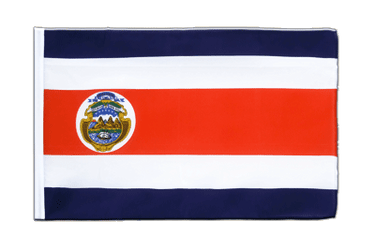Costa Rica Sleeved Flag ECO 2x3 ft