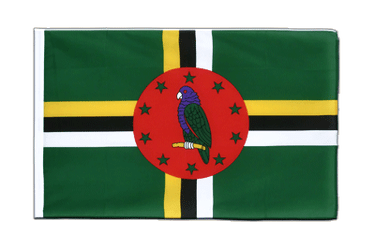Dominica Sleeved Flag ECO 2x3 ft