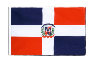 Dominican Republic Sleeved Flag ECO 2x3 ft