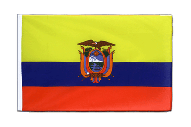 Ecuador - Sleeved Flag ECO 2x3 ft