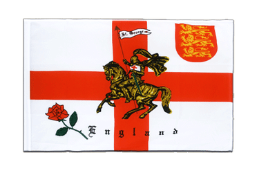 England with knight - Sleeved Flag ECO 2x3 ft
