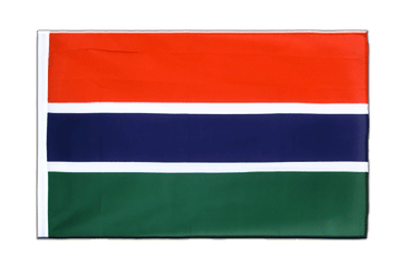 Gambia Sleeved Flag ECO 2x3 ft