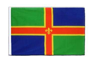 Lincolnshire Sleeved Flag ECO 2x3 ft