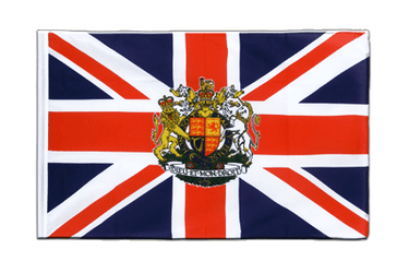 Great Britain with crest Sleeved Flag ECO 2x3 ft