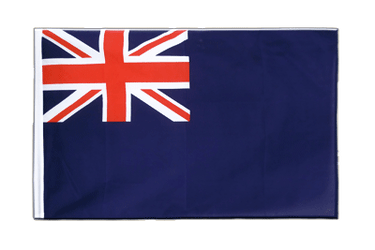 United Kingdom Naval Blue Ensign 1659 Sleeved Flag ECO 2x3 ft