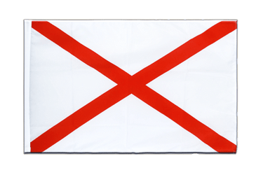 St. Patrick cross Sleeved Flag ECO 2x3 ft