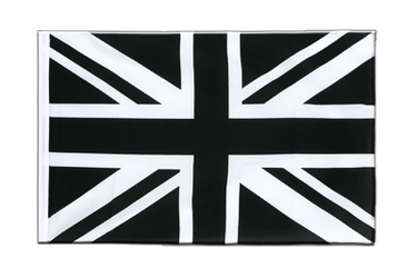 Union Jack black - Sleeved Flag ECO 2x3 ft