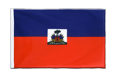Haiti Sleeved Flag ECO 2x3 ft