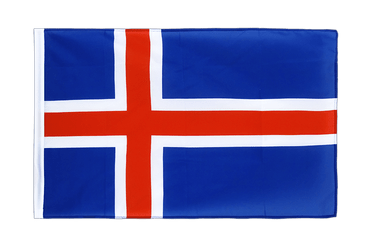 Iceland Sleeved Flag ECO 2x3 ft