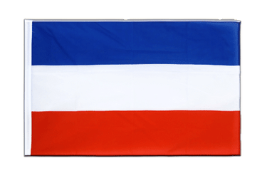 Yougoslavie ancien Drapeau Fourreau ECO 60 x 90 cm