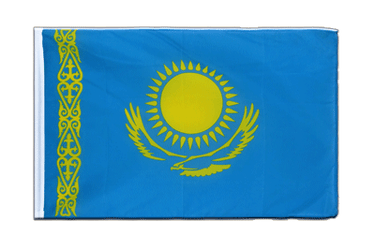 Kazakhstan Sleeved Flag ECO 2x3 ft