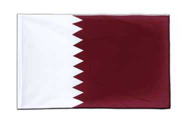 Qatar Sleeved Flag ECO 2x3 ft
