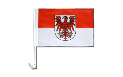 Brandenburg Car Flag 12x16""