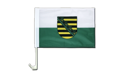Saxony  Car Flag 12x16""