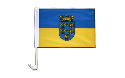 Lower Austria Car Flag 12x16""