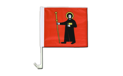 Glarus Car Flag 12x12""