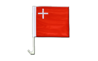 Schwyz Car Flag 12x12""